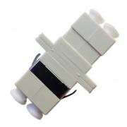 25 Unidades de Acoplador óptico LC Duplex MM Bege