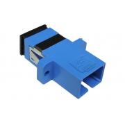 25 Unidades de Acoplador Óptico SC Simplex SM Azul