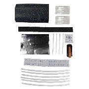 5 Unid Kit Manta Oval Para Caixa De Emenda Fibra Optica 96fo