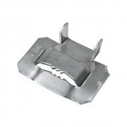 "30 Unidades Fecho de Aço Inox 1/2"" para fita Fusimec"
