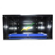 KIT GABINETE ORGANIZADOR CFTV HD8000 8C + MINI RACK 5U