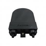 40 unidades de Terminador Óptico 06F Injetado - Preto