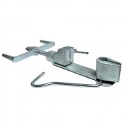 5  Pçs Máquina De Cintar Poste Galvanizada P/ Fita Aço Inox Fusimec