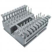 5 Unidades de Kit Bloco BLI 10 Pares com Canaleta plástica unitário