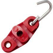 600 PEÇAS Esticador Drop Tipo 8 Vermelho para Poste, Fio Fe, Cabo UTP, Rj45, Externo