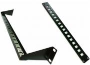 6 Peças Patch Panel Descarregado 16 Portas Com Guia Traseira Perfurada