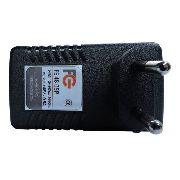Fonte Poe 48v x 0,5A Bivolt Para Ligação de CFTV - Internet - Fibra