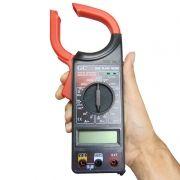 Alicate Amperímetro modelo 266C com medidor de temperatura - GCT