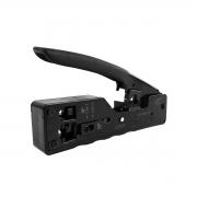 Alicate de crimpar profissional para conectores RJ11 RJ45 Cat7