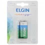 Bateria Alcalina 9v Elgin 6LR61