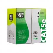 Cabo de Rede UTP Cat5e CMX 4 Pares Branco Soho Plus Caixa c/ 305m - Furukawa
