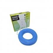 Caixa de cabo de Rede UTP Cat5e CMX 4 Pares Azul Sohoplus Furukawa - 100 metros