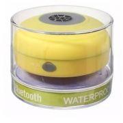 Caixa de som Bluetooth Resistente a água - AMARELO - EXBOM