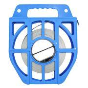 Caixa Plástica Azul Com Fita Fusimec 1/2