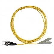CDM - Cordão Óptico Duplex MM SC/ST (50/125) 2,5m