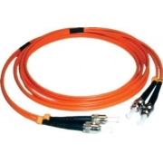 CDM - Cordão Óptico Duplex MM ST/ST (62,5/125) - 10m