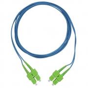 CDS - Cordão Óptico Duplex SM SC-APC/SC-APC (9/125) Azul 1,5m
