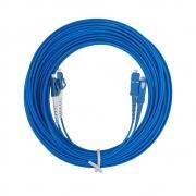 CDS - Cordão Óptico Duplex SM SC-UPC/LC-UPC (9/125) - 10m
