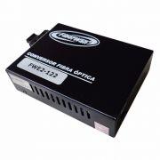 Conversor de Fibra Optica MM e SM 10/100/1000 2FO SC 01 RJ45 FWE2-122