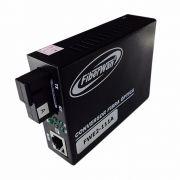 Conversor de Fibra Optica  MM e SM 10/100 1 FO SC p/ RJ45 FWE2-111 AeB