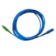 CSS - Cordão Óptico Simplex SM SC-UPC/SC-APC (9/125) Azul - 3m