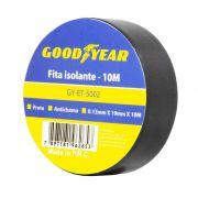 Fita Isolante Goodyear 10 mts - preto