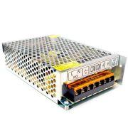 Fonte Colmeia CFTV 12V x 10A GRADEADA para CFTV LED e Automotivo