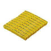 Kit de Anilhas para identificação de cabos com Letras (520 Peças)