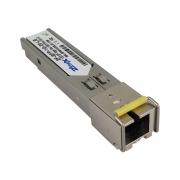 Módulo Mini Gbic SFP 1.25G WDM - 01FO SC/UPC Lado B SM 20KM
