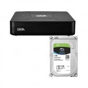 P04 DVR OPEN HD LITE 720P 8 CANAIS 1TB - GS0085