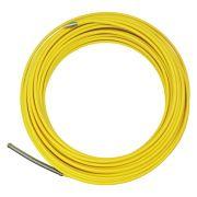Passa fio sonda de nylon com alma de aço GW amarelo 25 metros