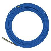 Passa fio sonda de nylon com alma de aço GW azul 20 metros