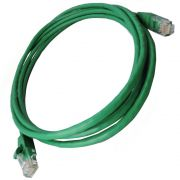 Patch Cord RJ45 Cat5e 2,5m Verde - Nexans