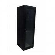 Rack de Piso c/ Porta de Acrílico 40U x 770 Preto