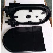 Terminador Óptico 04F Injetado - Preto
