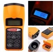 Trena digital Eletronica p/ medição de distancia sensor de ultrasom