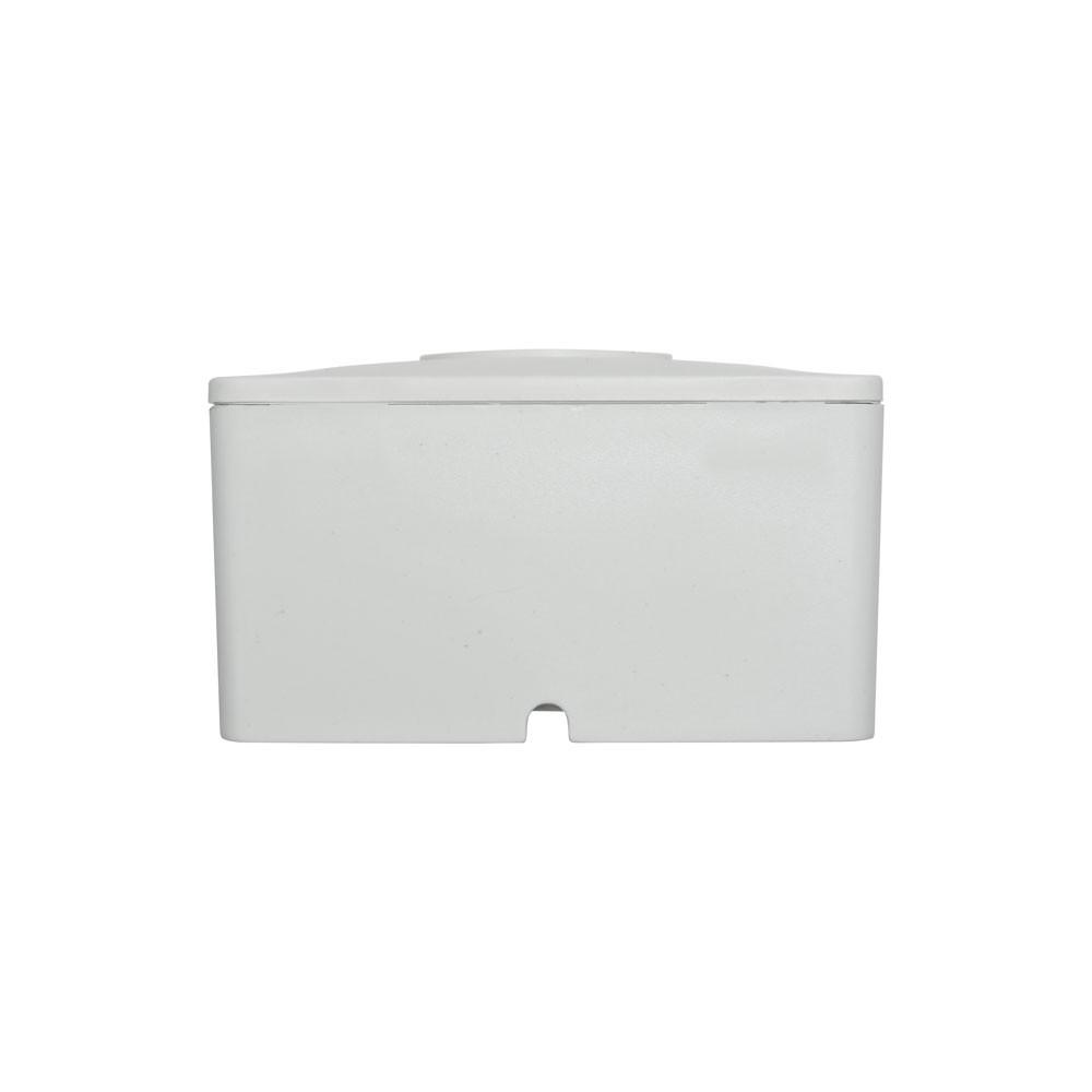 20 Unidades de Caixa de sobrepor para CFTV Quadrada Branca c/ tampa cega