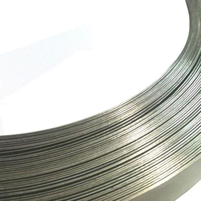 """2 Pçs Rolo Fita de Aço Inox 3/4"""" x 0,5mm x 25m Fusimec REX0026"""