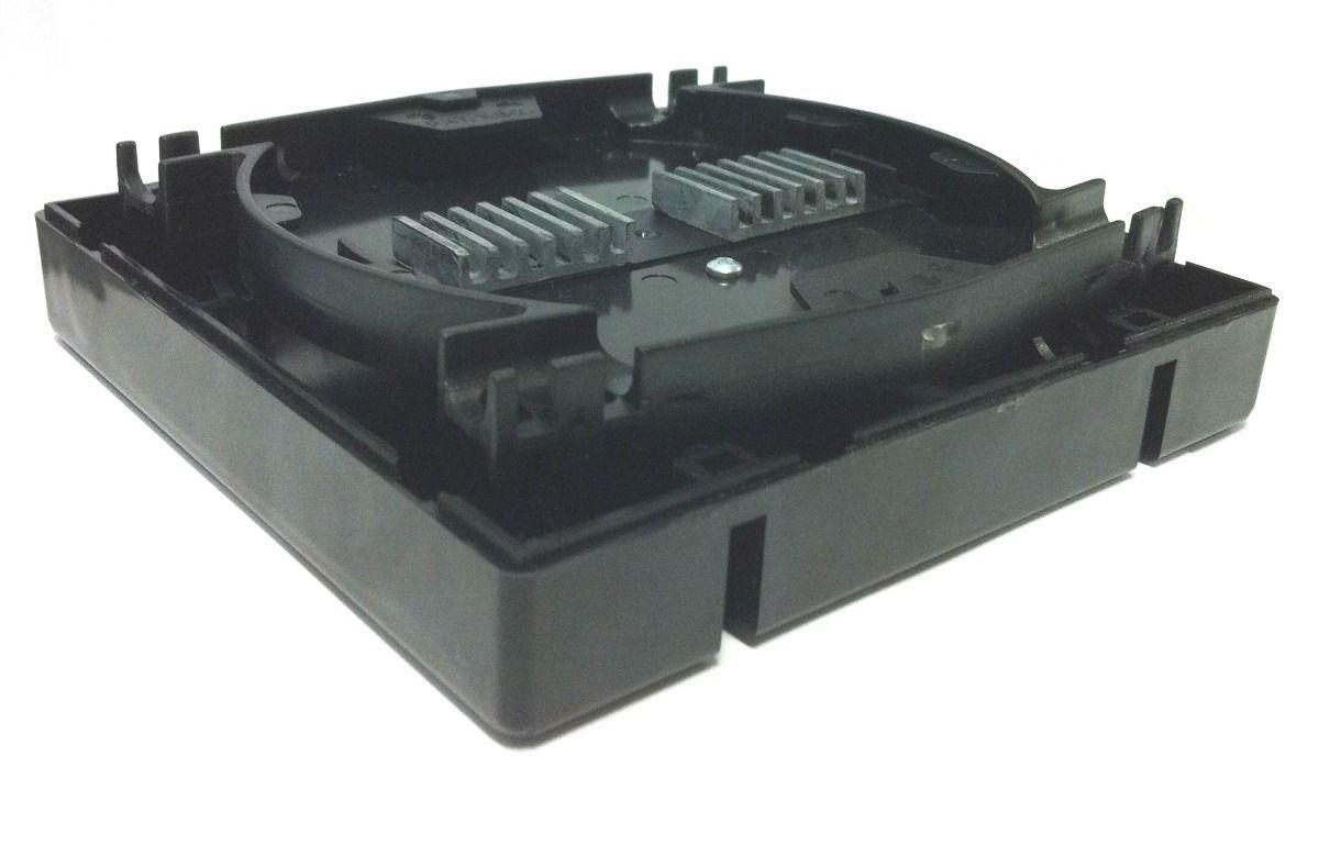 2 unidades Caixa de Emenda Óptic-Block 12F - Terminador óptico de PVC quadrado