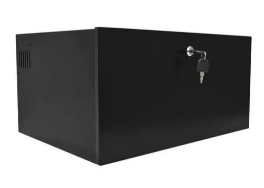 Mini Rack De Parede Organizador 5u X 350mm porta de aço
