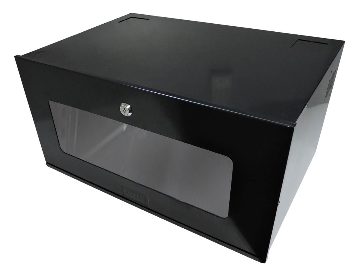 KIT GABINETE ORGANIZADOR CFTV HD8000 16C + MINI RACK 5U