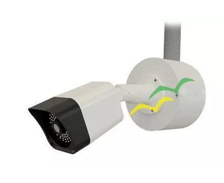 Caixa Redonda Organizador De Câmera Para Balun Cftv Ip66 Abs