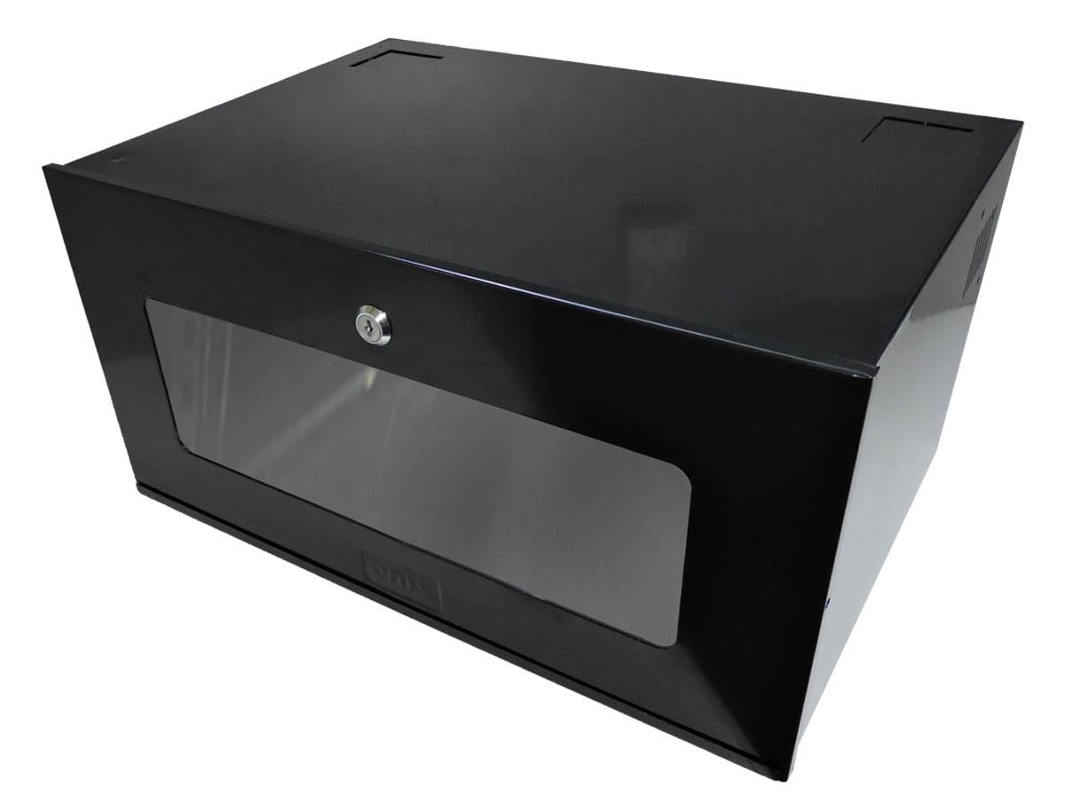 KIT GABINETE ORGANIZADOR CFTV HD8000 8C + MINI RACK 5U