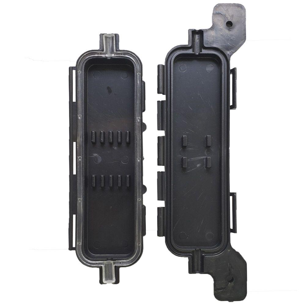 50 Unidades de Mini Caixa De Emenda Para Cabo Drop de Provedor Fibra Óptica FTTH