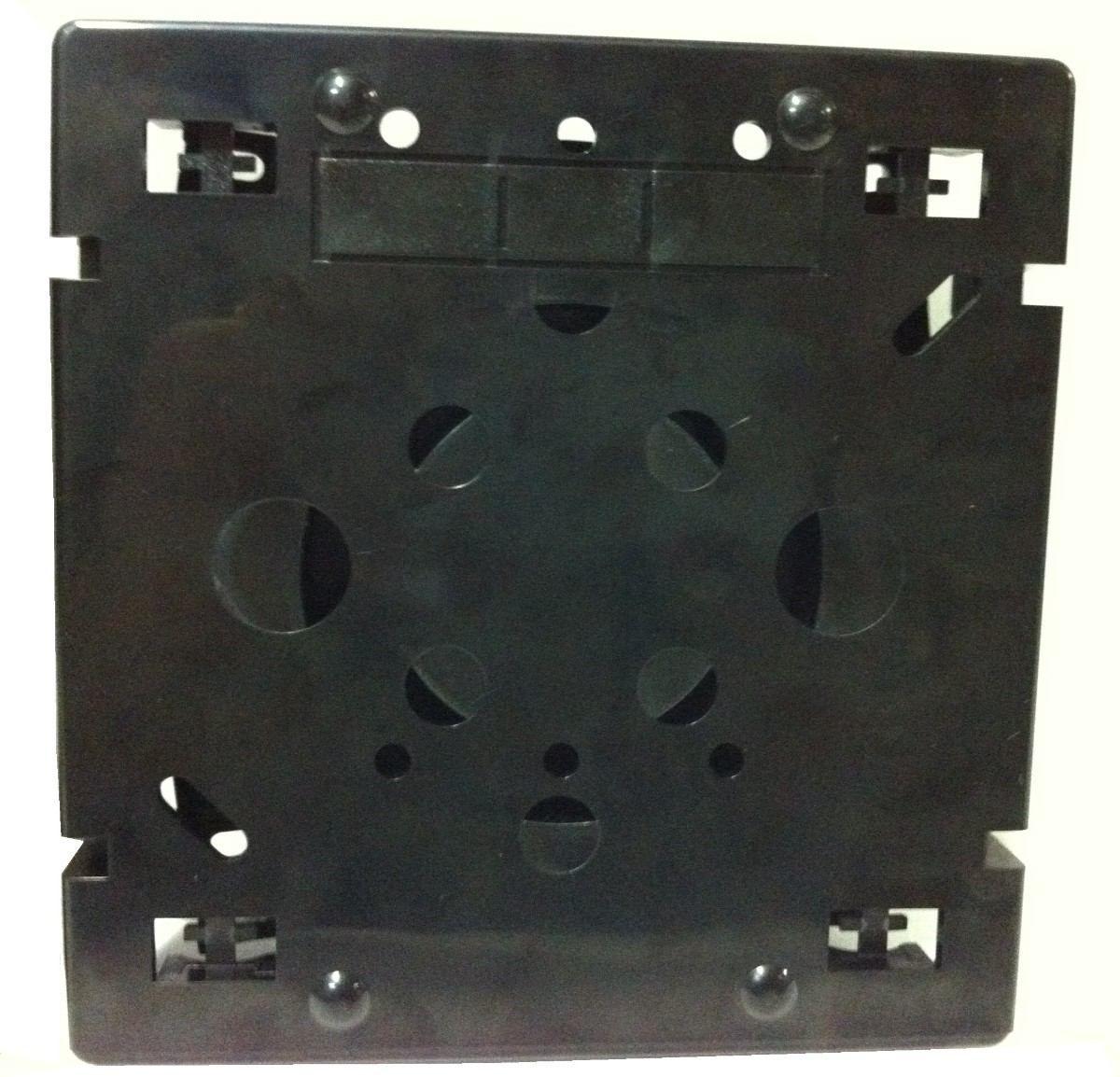 50 unidades Caixa de Emenda Óptic-Block 12F - Terminador óptico de PVC quadrado