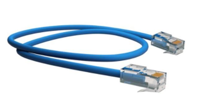5 Unidades de Patch Cord Lan Cat6 1,5m Furukawa Soho plus azul