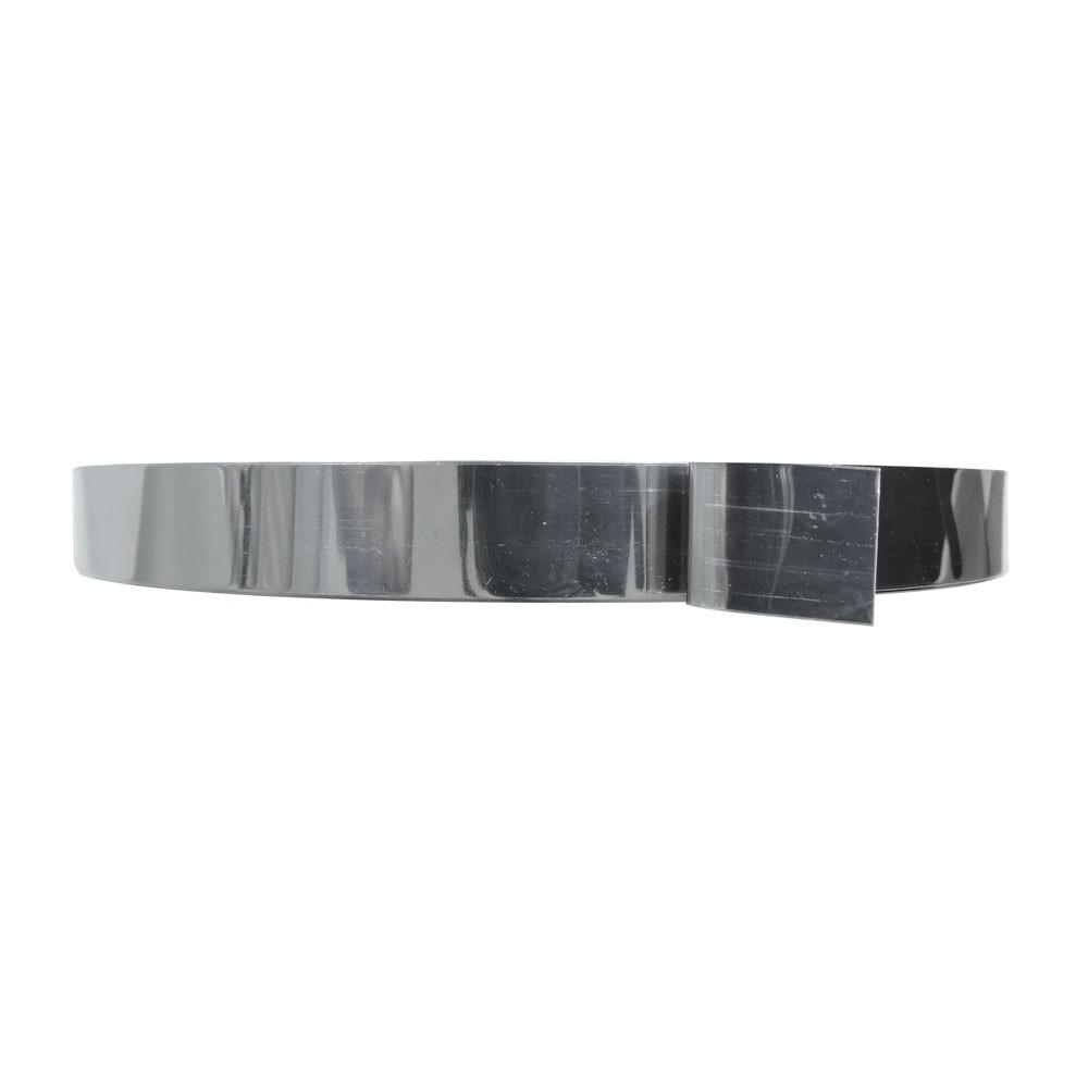 "6 Pçs Rolo Fita de Aço Inox 3/4"" x 0,5mm x 25m Fusimec"