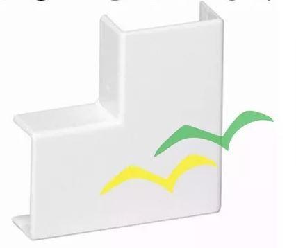 Acabamento para Canaleta Cotovelo 90° 50X20mm Branco - ILUMI