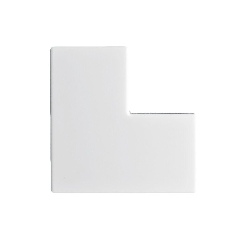 Acabamento para Canaleta Cotovelo 90° Branco 10X20mm - ILUMI