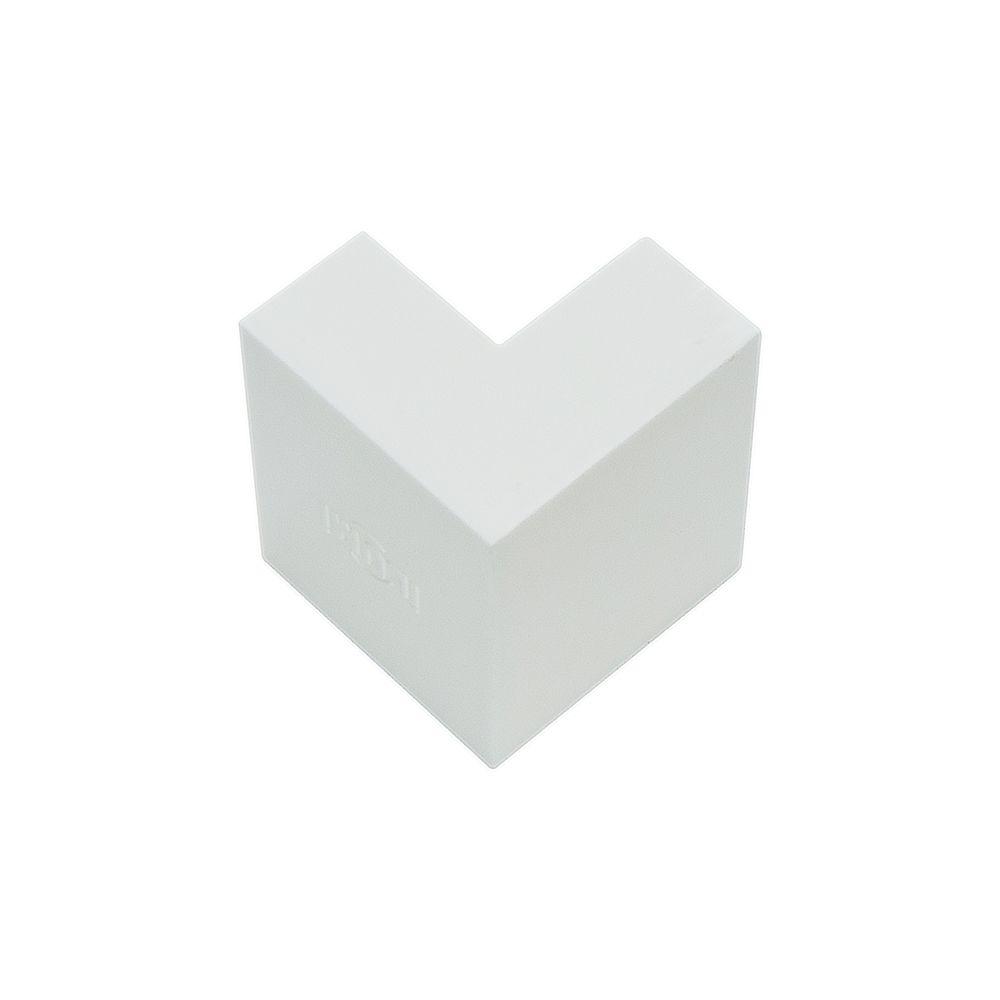 Acabamento para Canaleta Cotovelo Externo 40X16 Branco - ILUMI